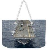 The Amphibious Assault Ship Uss Essex Weekender Tote Bag