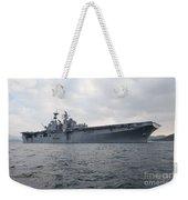 The Amphibious Assault Ship Uss Weekender Tote Bag