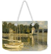 The Argenteuil Bridge Weekender Tote Bag