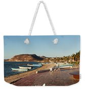 The Beachside Strolling Malecon Weekender Tote Bag