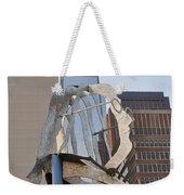 The Ben Franklin Sculpture Weekender Tote Bag