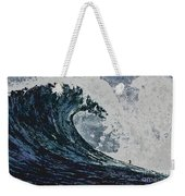 The Blue Crush Weekender Tote Bag