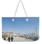 The Bund In Shanghai China Weekender Tote Bag