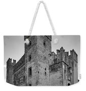 The Castle Of Sirmione. Lago Di Garda Weekender Tote Bag
