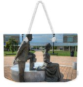 The Catherine And Milton Hershey Statue Weekender Tote Bag