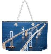 The Chesapeake Bay Bridge Weekender Tote Bag