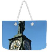 The Clock Weekender Tote Bag