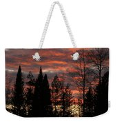 The Close Of Day Weekender Tote Bag