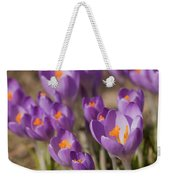 The Crocus Flowers Weekender Tote Bag