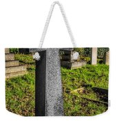 The Cross Weekender Tote Bag by Adrian Evans