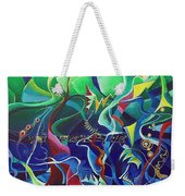 the dreams of Jacob Weekender Tote Bag