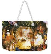 The Fairies Banquet Weekender Tote Bag by John Anster Fitzgerald