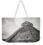 The Famous Kulkulcan Pyramid At Chichen Itza Weekender Tote Bag