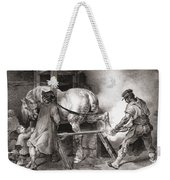 The Farrier, From Etudes De Cheveaux Weekender Tote Bag