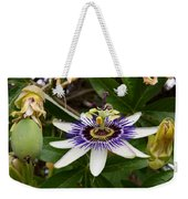 The Flower 13 Weekender Tote Bag