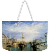 The Grand Canal Weekender Tote Bag
