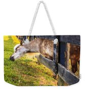 The Grass Is Greener... Weekender Tote Bag
