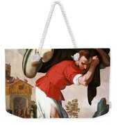 The Healing Of The Paralytic Weekender Tote Bag
