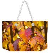 The Heart Of Fall Weekender Tote Bag