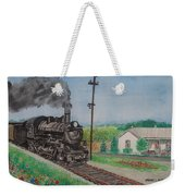 The Hillsboro Local Passing My Birthplace At Sardinia Weekender Tote Bag