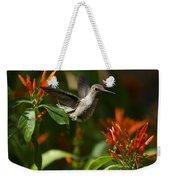 The Hummingbird Hover  Weekender Tote Bag