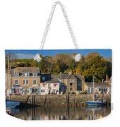 The Inner Harbour At Padstow Weekender Tote Bag