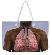 The Lungs And Cardiovascular System Weekender Tote Bag