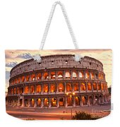 The Majestic Coliseum - Rome - Italy Weekender Tote Bag