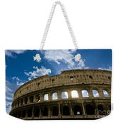 The Majestic Coliseum - Rome Weekender Tote Bag by Luciano Mortula