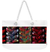 The Many Faces Of Heliconia  Weekender Tote Bag