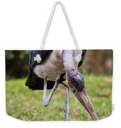 The Marabou Stork In Tanzania. Africa Weekender Tote Bag