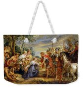The Meeting Of David And Abigail Weekender Tote Bag