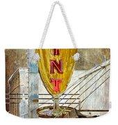 The Mint Weekender Tote Bag