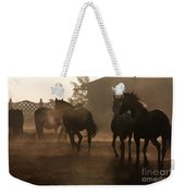 The Misty Morning Weekender Tote Bag