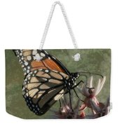 The Monarch Painterly Weekender Tote Bag