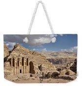 The Monastery El Deir Or Al Deir Weekender Tote Bag
