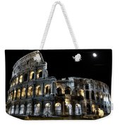 The Moon Above The Colosseum No2 Weekender Tote Bag