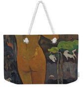 The Moon And The Earth Weekender Tote Bag