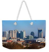 The Nashville Skyline As Viewed Weekender Tote Bag