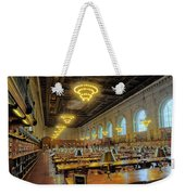 The New York Public Library Weekender Tote Bag