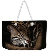The Ocelot Weekender Tote Bag