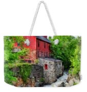 The Old Red Mill Jericho Vermont Weekender Tote Bag