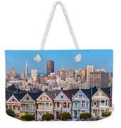 The Painted Ladies Of San Francisco Weekender Tote Bag