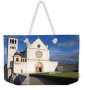 The Papal Basilica Of St. Francis Of Assisi  Weekender Tote Bag