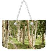 The Path Between The Trees Weekender Tote Bag