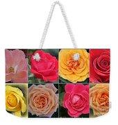 Spring Time Roses Weekender Tote Bag