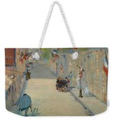 The Rue Mosnier With Flags Weekender Tote Bag