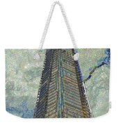The Shard London Art Weekender Tote Bag