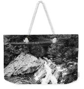 The Sinks Smoky Mountains Bw Weekender Tote Bag