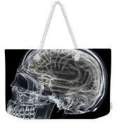 The Skull And Brain Weekender Tote Bag